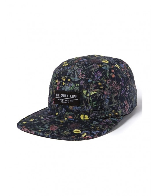 The Quiet Life Liberty Wild Wood 5 Panel Camper Hat - Floral