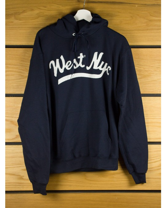 West NYC Script Champion Pullover Hoody - Navy
