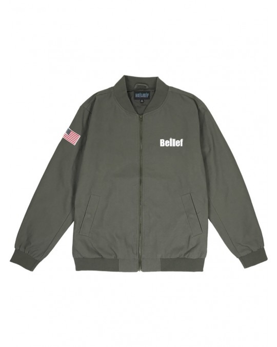 Belief World Trade Jacket - Olive