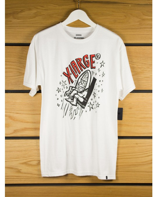 X-Large Ejector T-Shirt - White