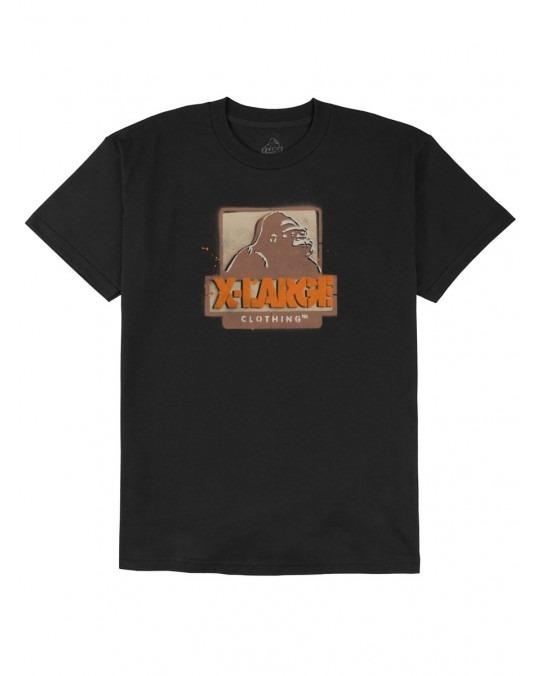 X-Large Stencil T-Shirt - Black