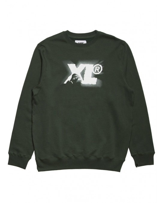 X-Large Cameo Thing Crewneck - Forest Green