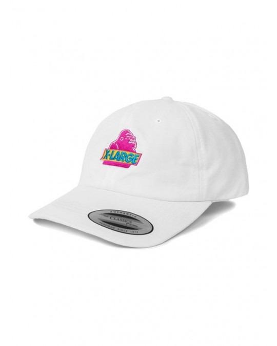 X-Large Old OG Cap - White Pink