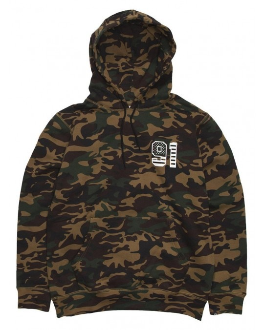 X-Large Patriot Pullover Hoody - Camo