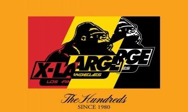 THE HUNDREDS x X-LARGE