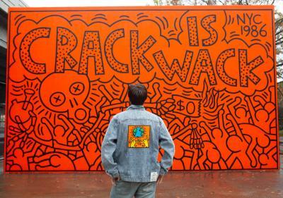 Diamond Supply Co x Keith Haring
