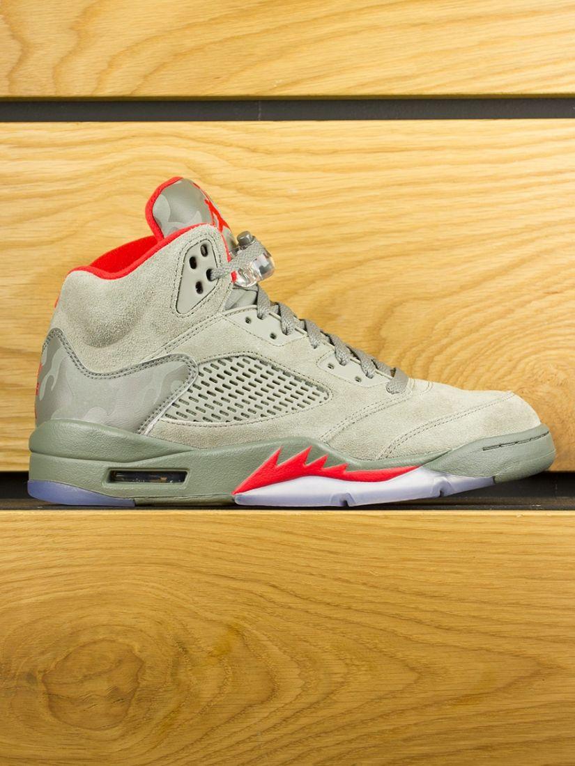 Nike Air Jordan V Retro 'Camo' - Dark