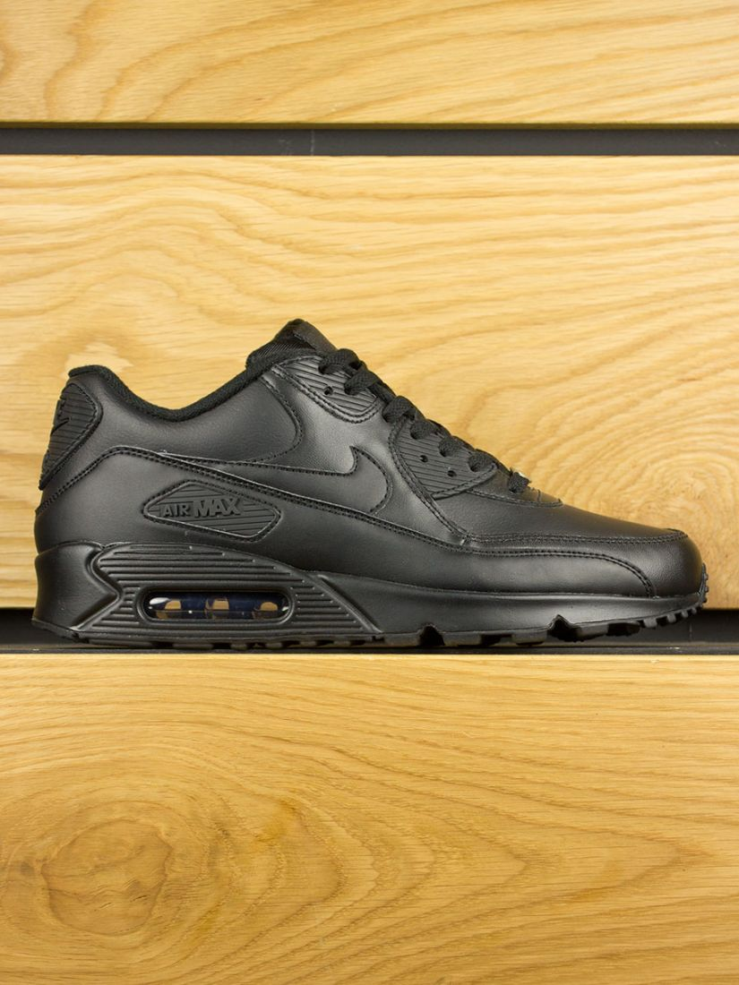 Nike Air Max 90 Leather 'Black Black'