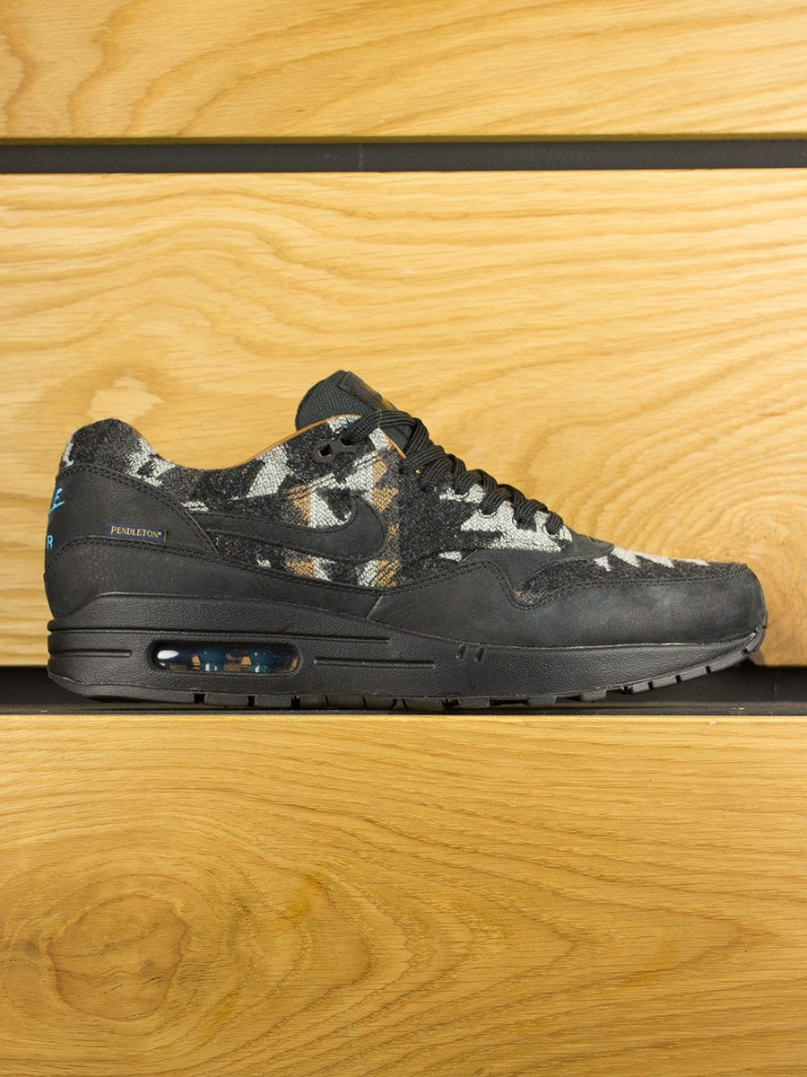 Nike Air Max 1 QS Pendleton Black Blue Brown