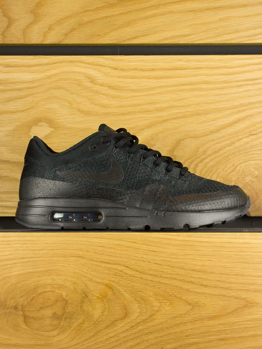 Nike Air Max 1 Ultra Flyknit Black Black Anthracite