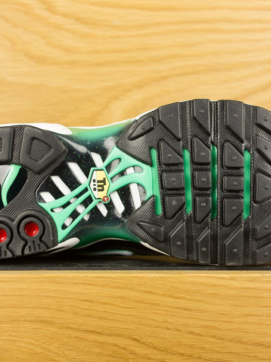 Nike Air Max Plus Tn Black White Electric Green