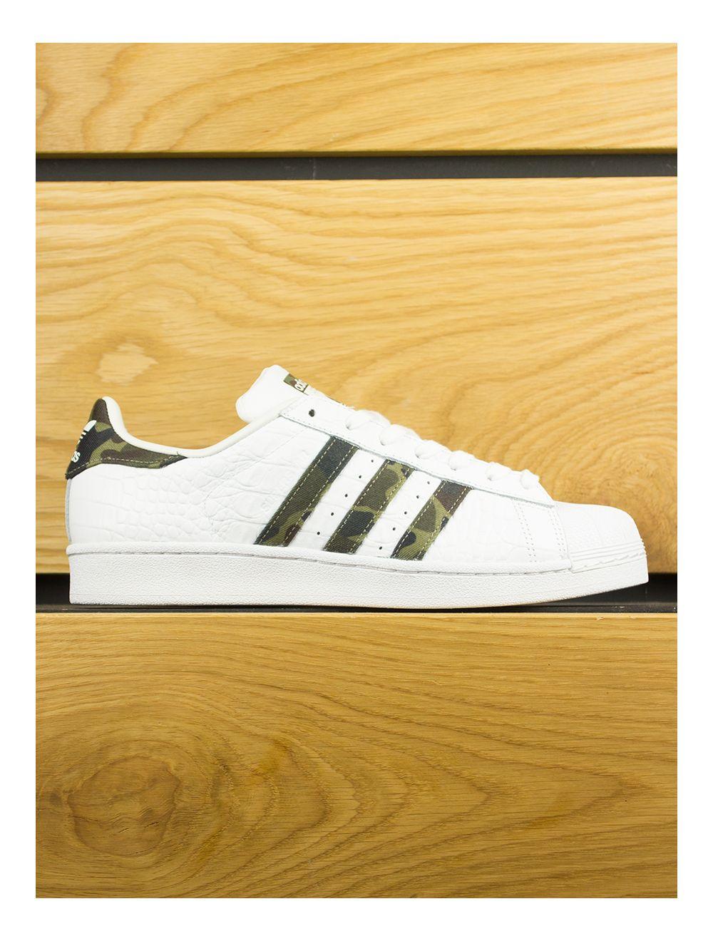 5f0aa220b2462 Adidas Superstar Foundation - White Core Black Camo Stripe
