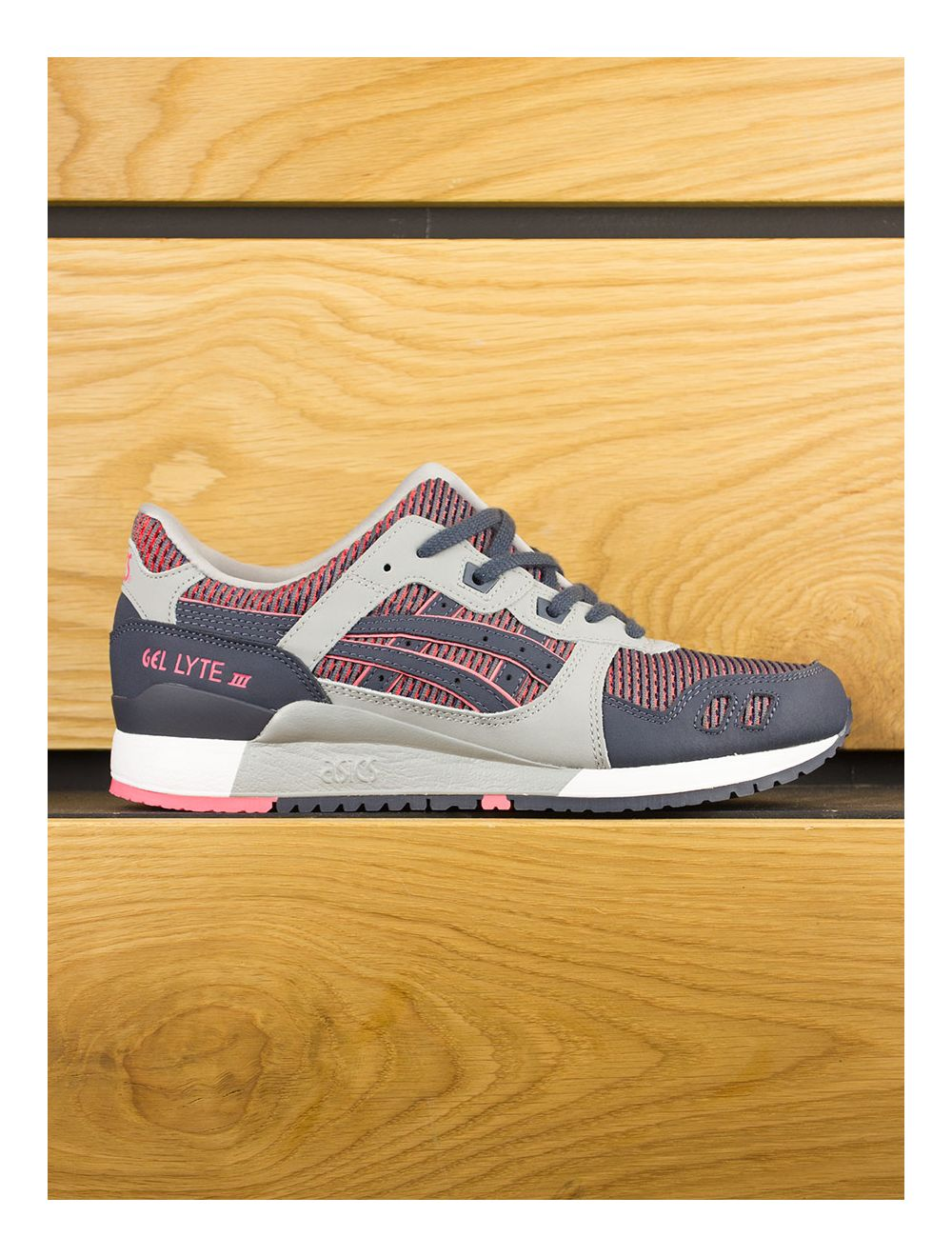 outlet store 8f3a1 601f6 Asics Gel-Lyte III 'Chameleoid Mesh Pack' - Medium Grey Guava