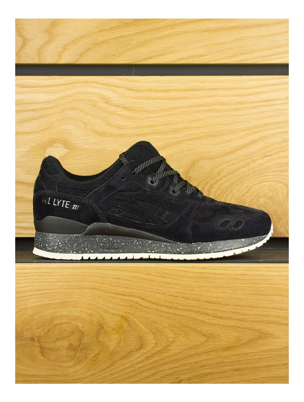timeless design 217a5 9c083 Asics Gel Lyte III x Reigning Champ 'Black'