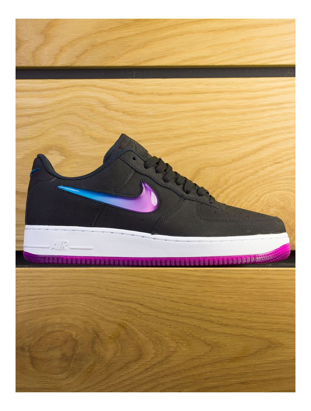 rencontrer 7afa0 db048 Nike Air Force 1 '07 Premium - Black Active Fuschia