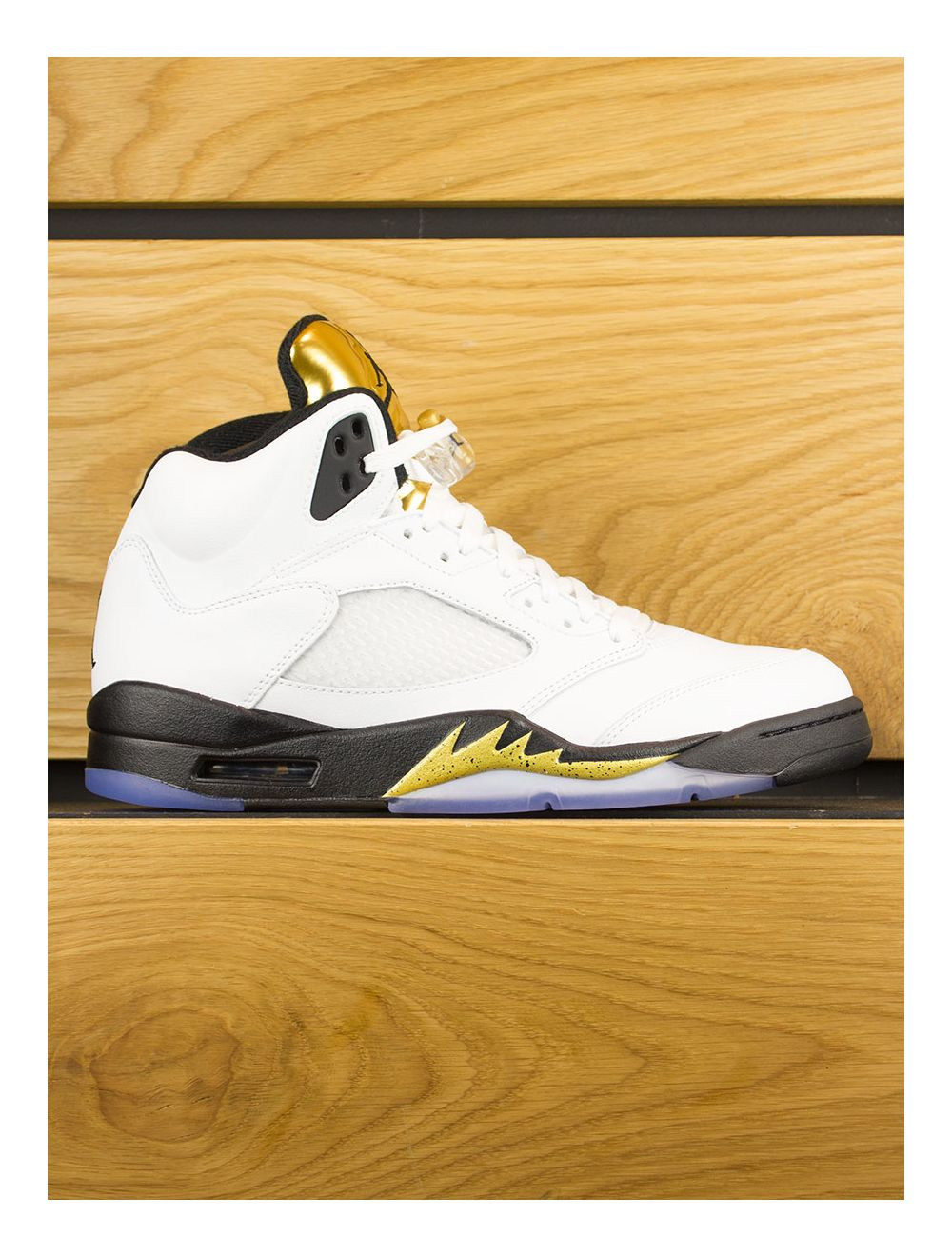 newest 6c261 8464a Nike Air Jordan 5 Retro 'Olympic Gold Medal'