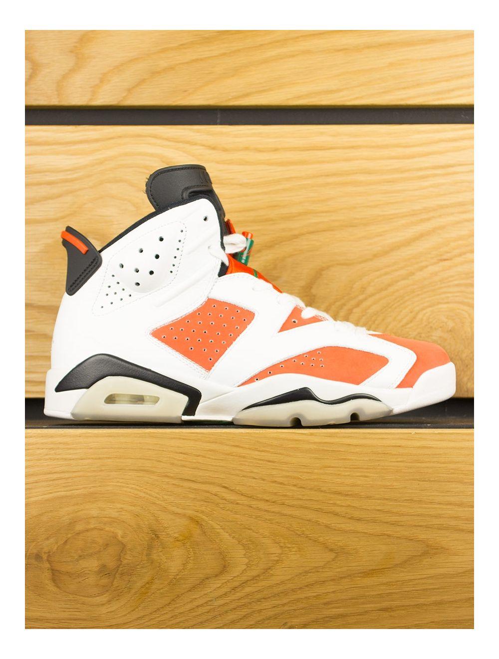 quality design d6b0a 187a1 Nike Air Jordan 6 Retro x Gatorade 'Like Mike' - Summit White Team Orange