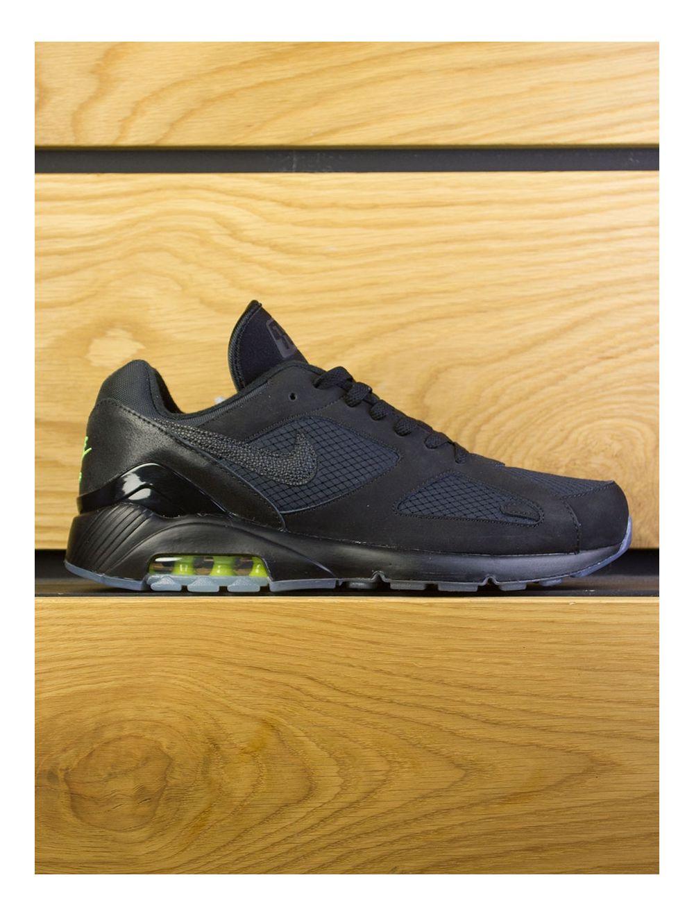 Nike Air Max 180 Night Ops Black Black Volt