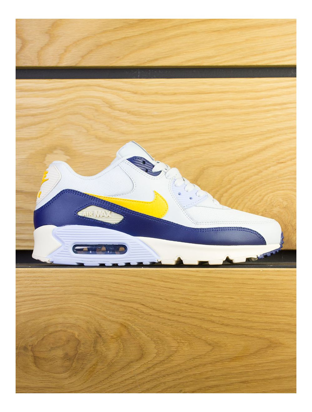 site réputé 2d9d9 3e3eb Nike Air Max 90 Essential - Pure Platinum Yellow Ochre