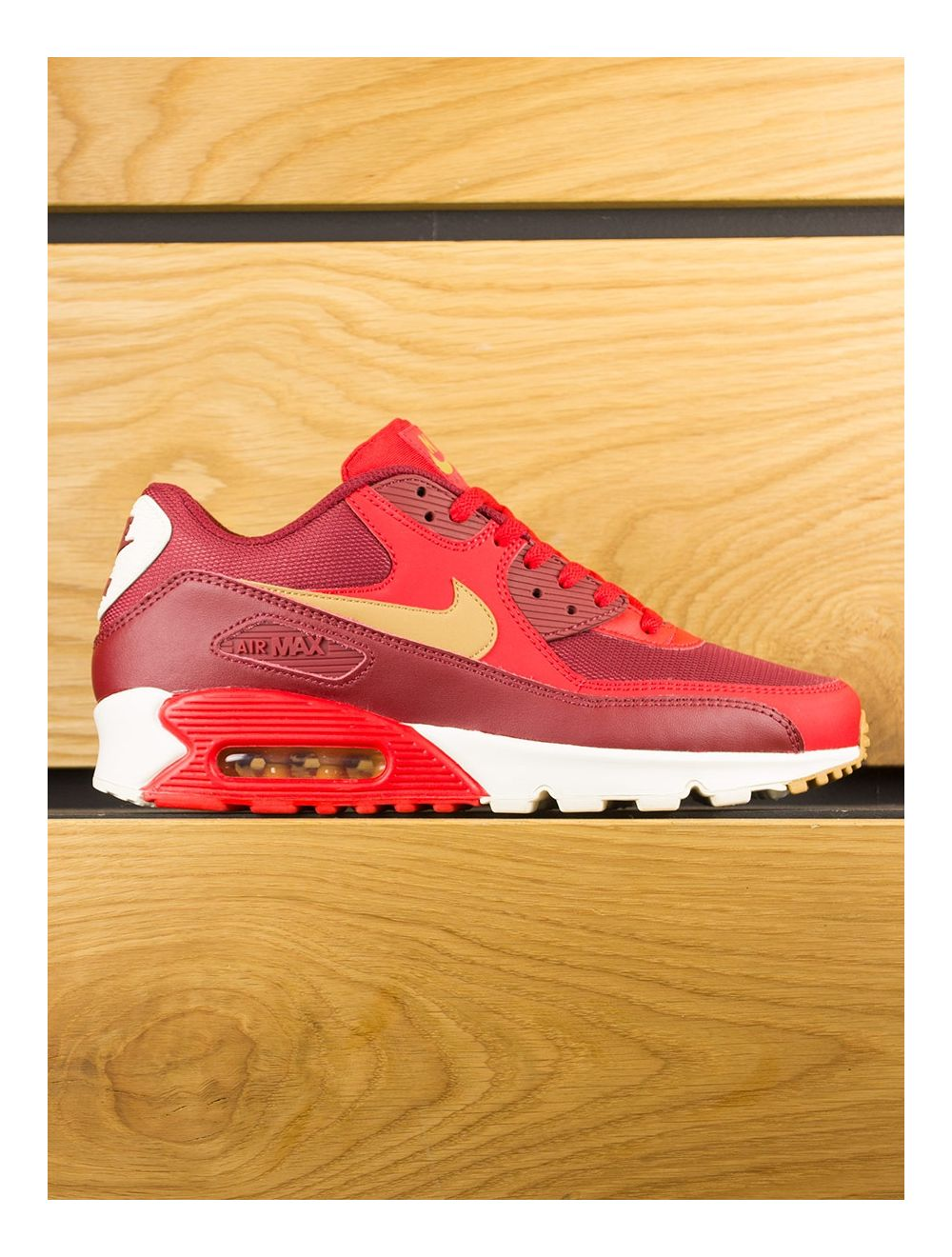 meet 10492 08484 Nike Air Max 90 Essential - Game Red Elemental Gold