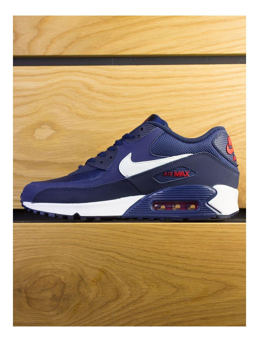 Nike Air Max 90 Essential Midnight Navy White