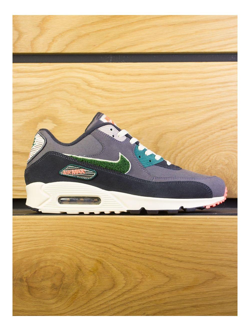 sports shoes 9dbb3 05749 Nike Air Max 90 Premium SE - Oil Grey Rainforest