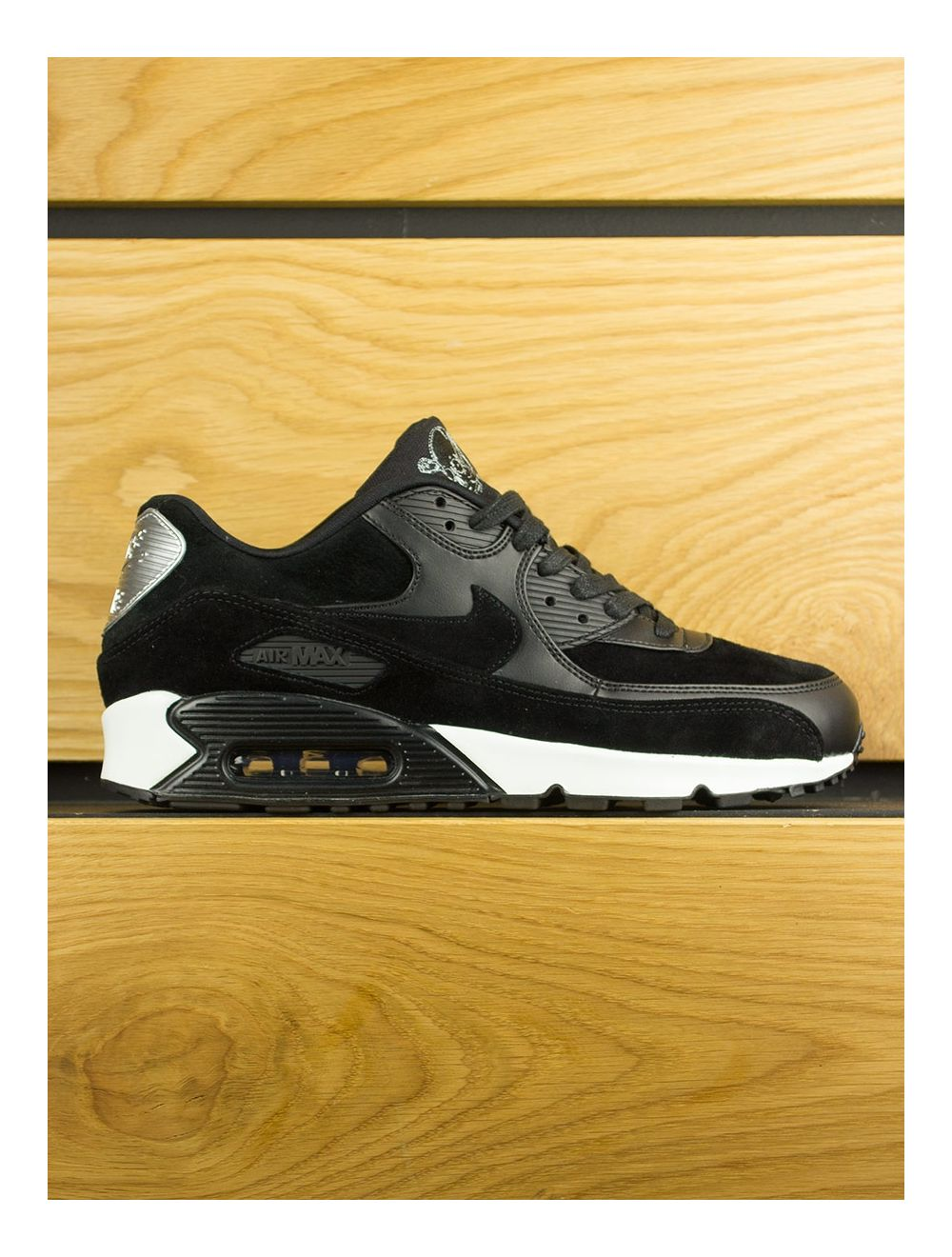 Nike Air Max 90 Premium 'Rebel Skull' Black Off White