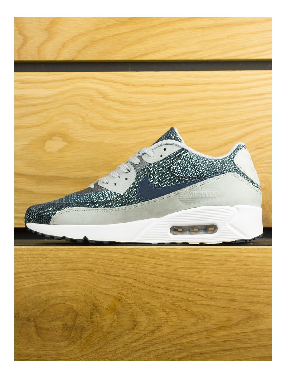 online retailer 43d7a 0008b Nike Air Max 90 Ultra 2.0 Jacquard BR - Armory Navy Wolf ...
