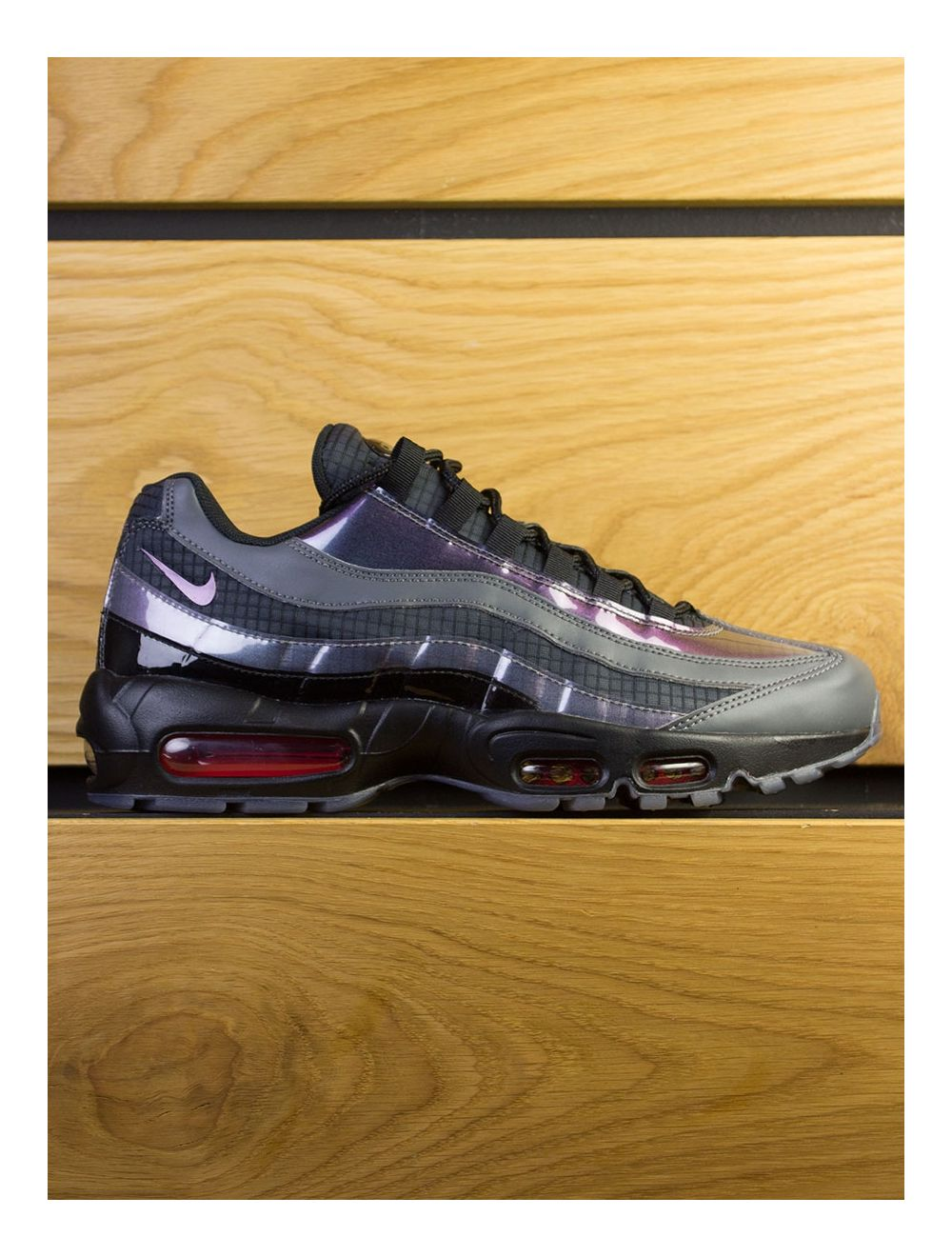 best cheap 2a20c 31b53 Nike Air Max 95 LV8 - Black Ember Glow Dark Grey