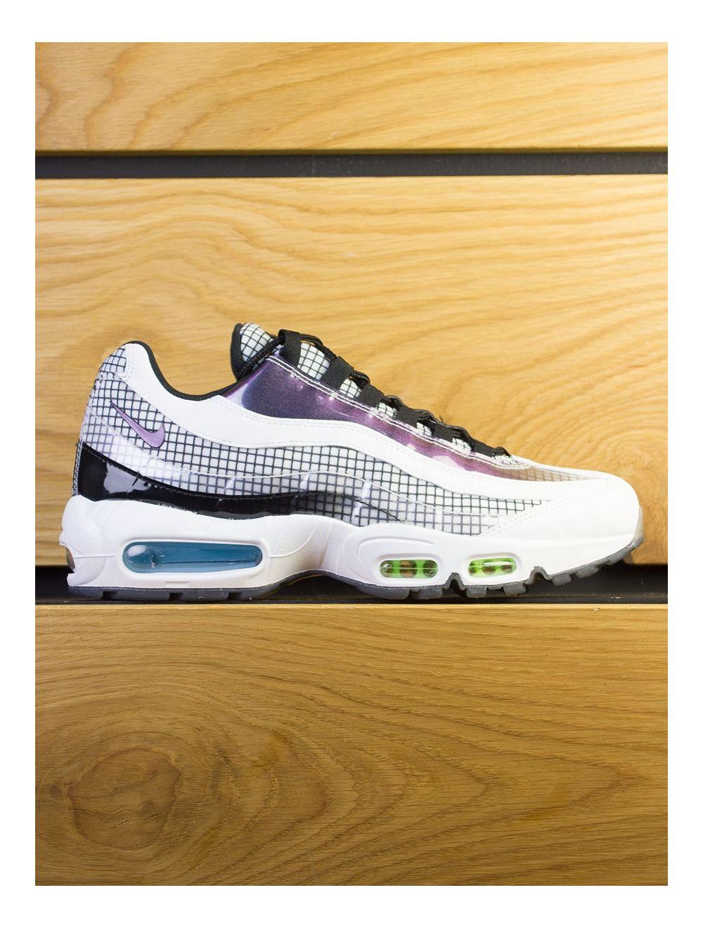 size 40 f71e5 c0939 Nike Air Max 95 LV8 - White Black Blue Glaze