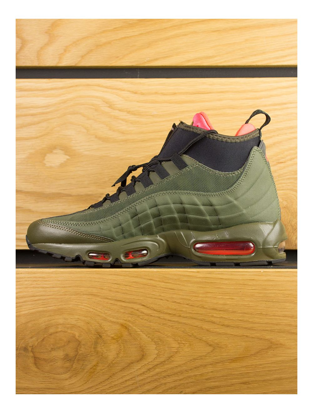buy popular cabed ad24a Nike Air Max 95 Sneakerboot - Dark Loden