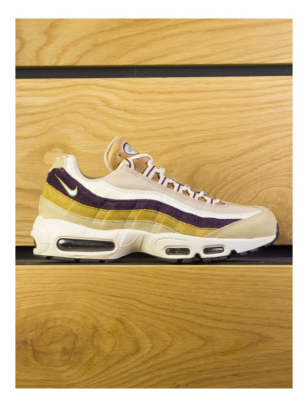 buy popular d567e 1758d Nike Air Max 95 Premium - Desert Royal Tint Camper Green