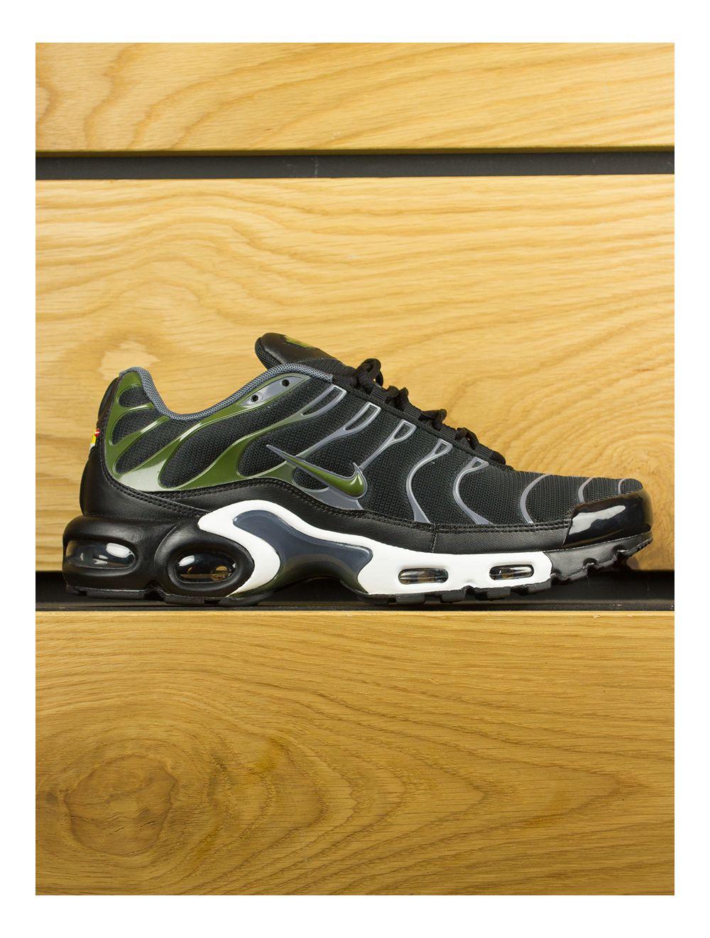 factory price d554f dad1a Nike Air Max Plus (TN) Black Legion Green