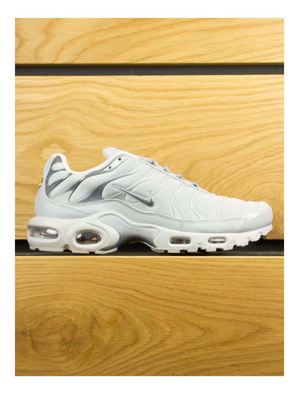 detailed pictures 7be8d 144e0 Nike Air Max Plus (TN) Platinum Wolf Grey Dark Grey