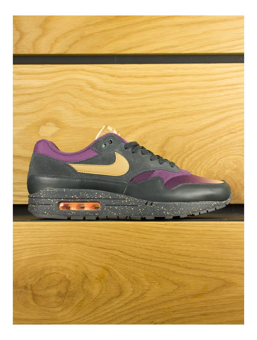 Nike Air Max 1 Premium 'Fade' Anthracite Elemental Gold