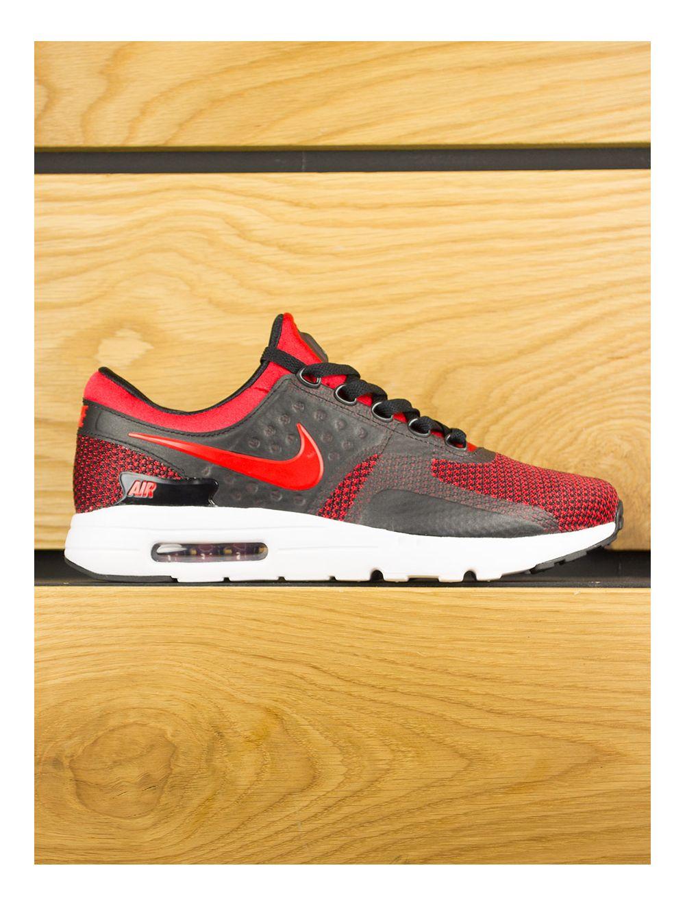 best service 74689 13441 Nike Air Max Zero - Bred University Red Black