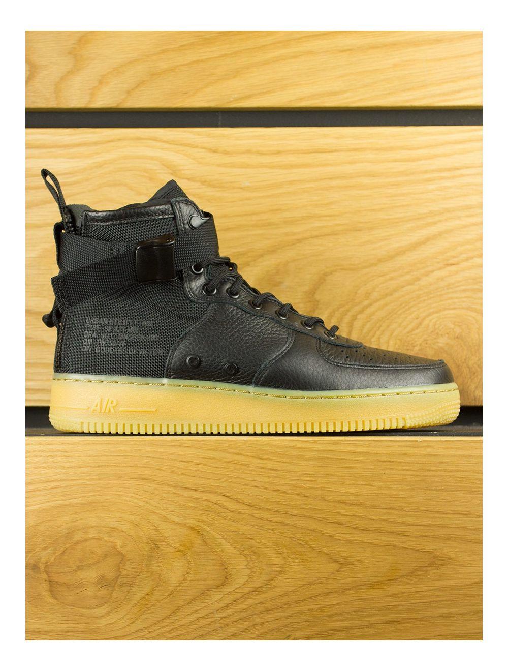 new arrivals dd6a5 62374 Nike SF Air Force 1 Mid - Black Gum Light Brown