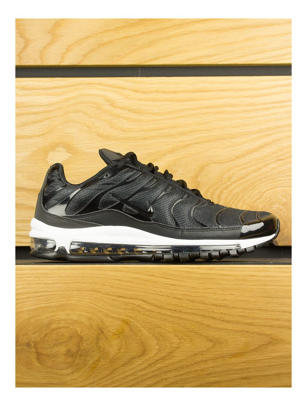 best loved 7cb5b 71e36 NikeLab Air Max 97 Plus - Black Anthracite White