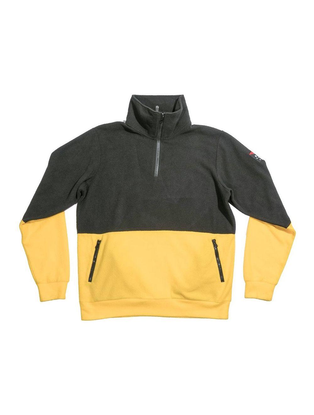 buy popular 2d0e7 bb0ce Grizzly x Black Scale Half Zip Pullover - Gunmetal