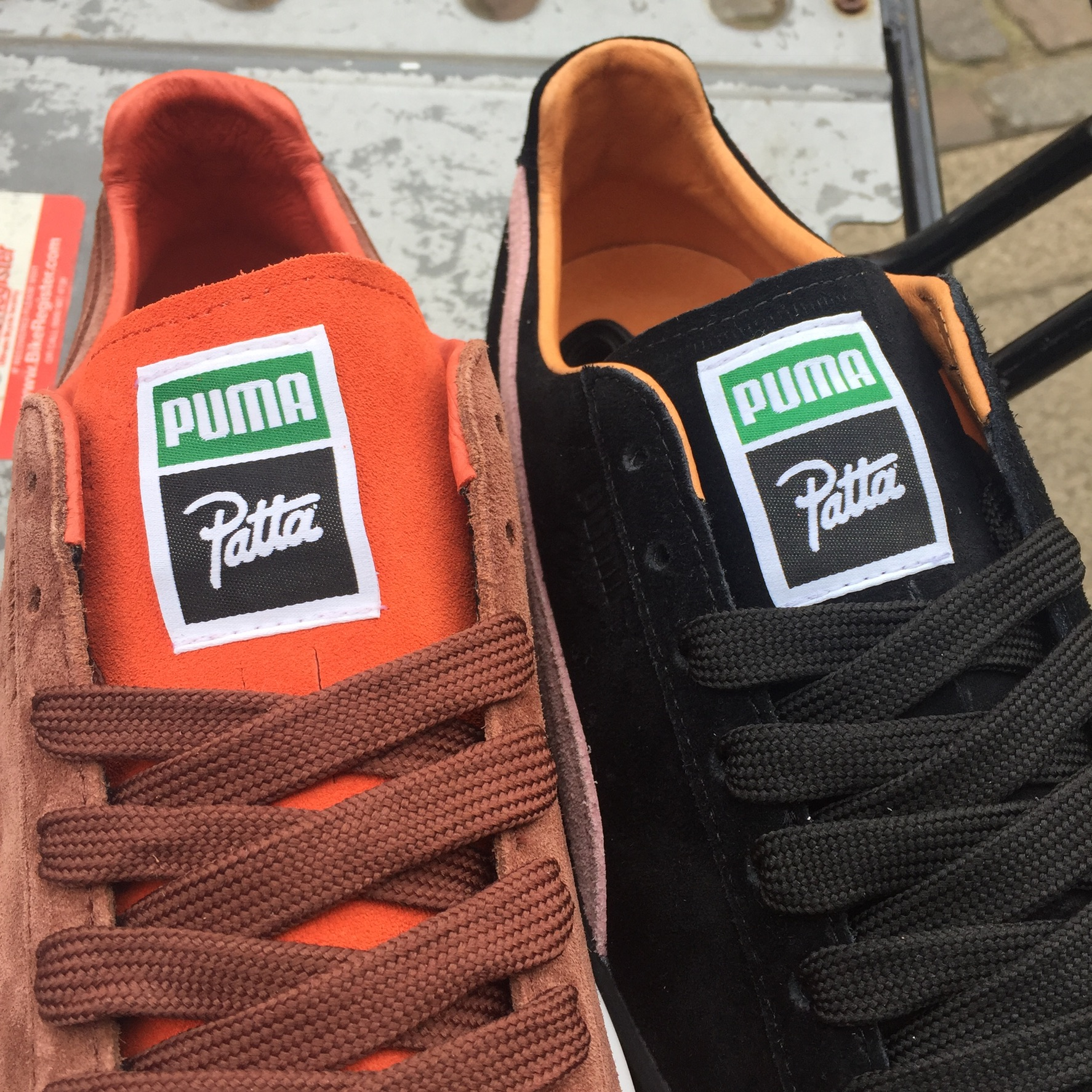 Puma Clyde x PATTA - Features