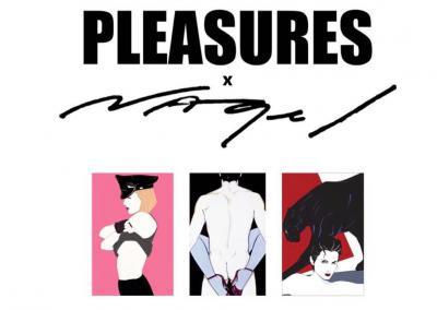 Pleasures X Patrick Nagel