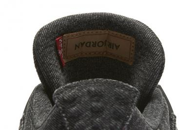 Levi's X Air Jordan 4 Black Denim