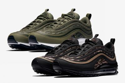 "Nike Air Max 97 ""Tiger Camo"" Pack"